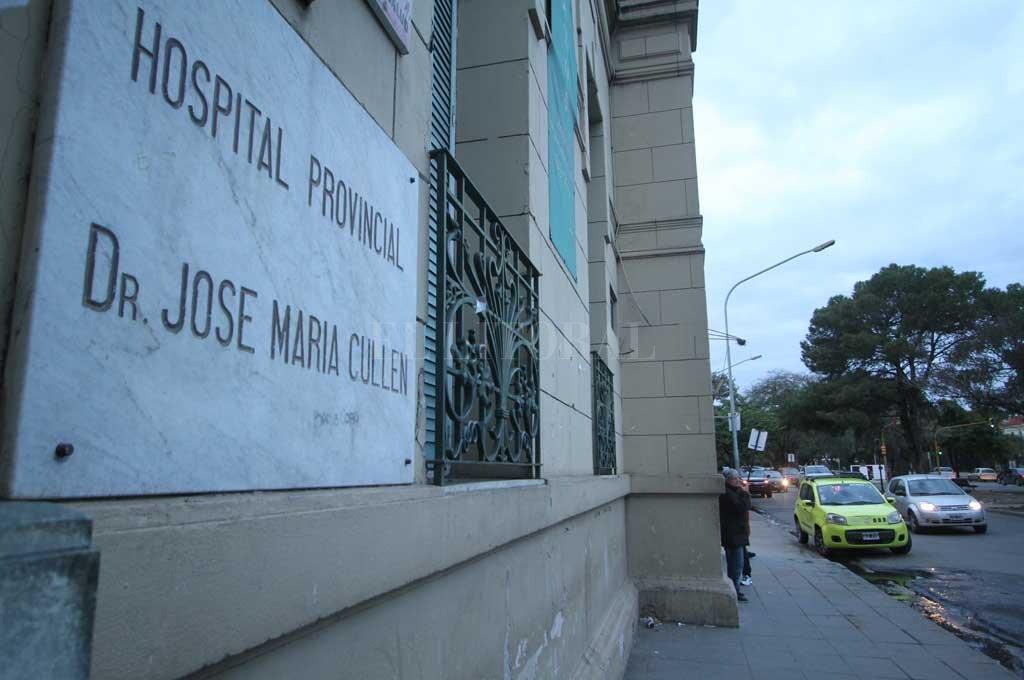 El hombre herido se encontraba internado en el Cullen Crédito: Archivo El Litoral