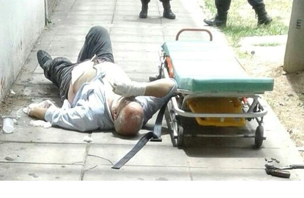 El agresor fue detenido luego de darse a la fuga. Crédito: Infobae