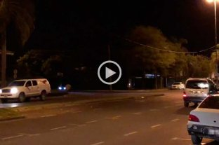 Video: susto en la Costanera de Santa Fe por un disparo -