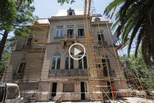 La Casa de la Cultura, en obra y bajo una meticulosa restauración
