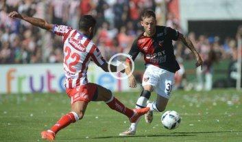 Unión - Colón: entretenido empate al término del primer tiempo