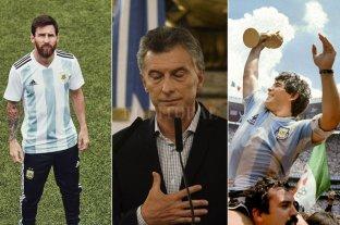Messi o Maradona: Macri eligió el mejor entre los dos