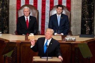 Trump llamó a la unidad nacional