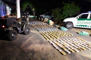 Más de 700 kilos de marihuana incautados en Formosa