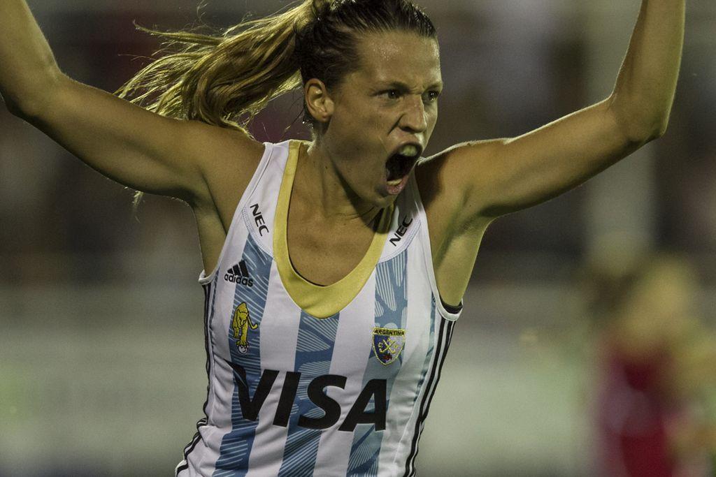 Delfina Merino ganó el premio a la Mejor Jugadora de 2017 — Hockey