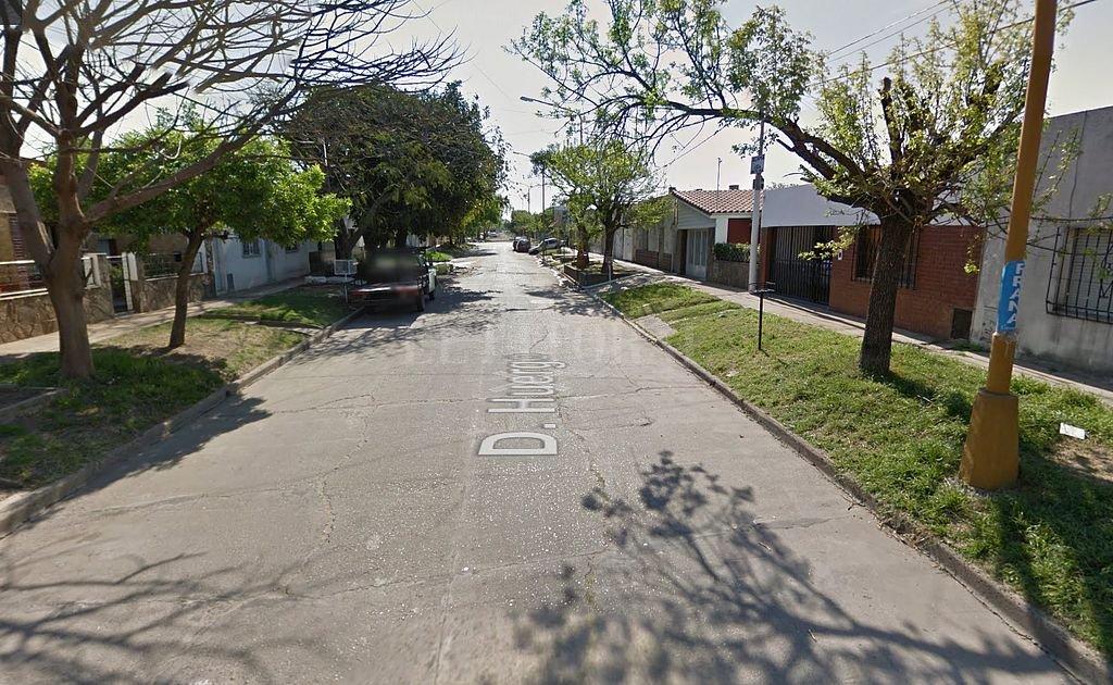 Huergo 3400. <strong>Foto:</strong> Captura digital Google Maps Street View