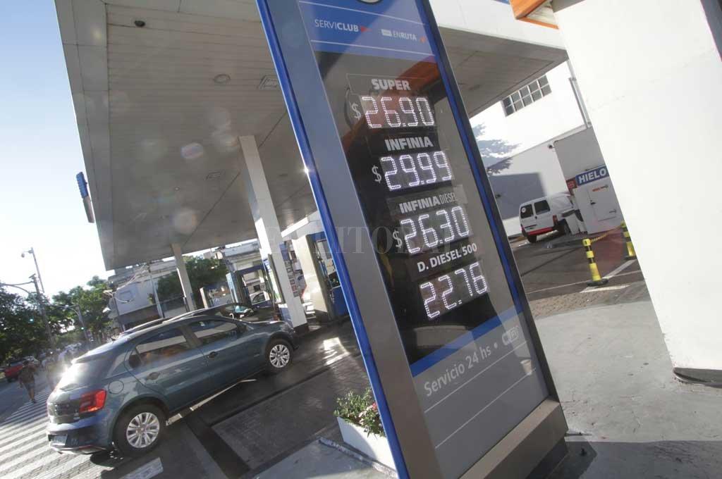 YPF volvió a subir los combustibles: Infinia a más de $30