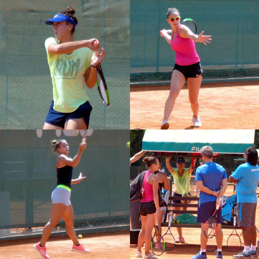 Paula Ormaechea logró un nuevo triunfo — Fed Cup