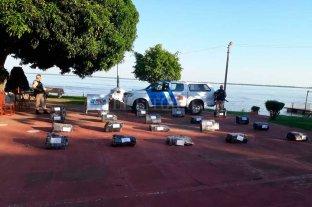 Más de 600 kilos de marihuana incautados en Corrientes