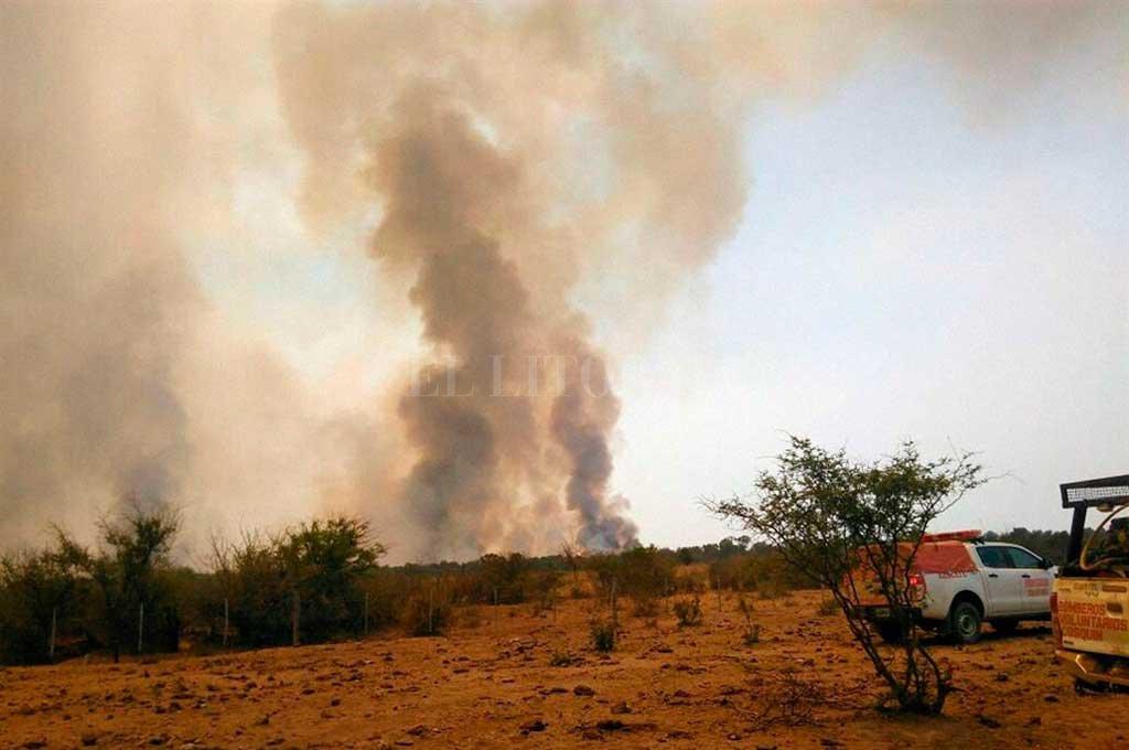 Quisieron hacer un asado en Córdoba y quemaron mil hectáreas