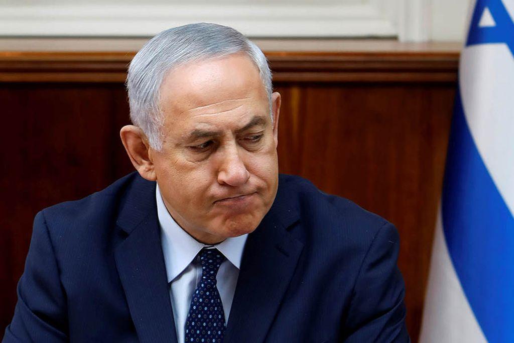 Benjamin Netanyahu rechazó este miércoles las acusaciones de corrupción en su contra. Crédito: Internet