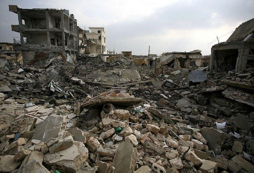 Ciudades enteras quedaron destruidas y despobladas en la invasión del EI y el combate contra la milicia. <strong>Foto:</strong> Internet