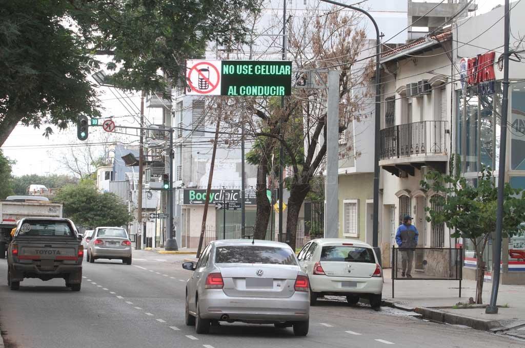 El hecho se produjo en la zona de bulevar y Vélez Sarsfield <strong>Foto:</strong> Archivo El Litoral / Guillermo Di Salvatore