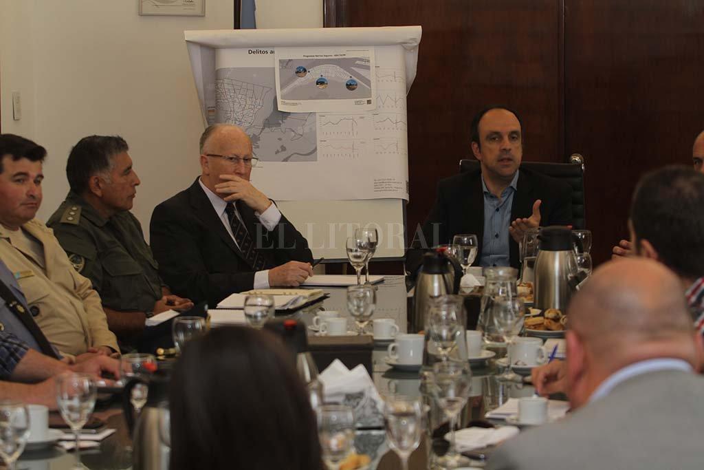 El registro fotográfico es del 4 de noviembre de 2016, en la última reunión que se realizó del Consejo de Seguridad Ciudadana.  <strong>Foto:</strong> Archivo / Mauricio Garín.