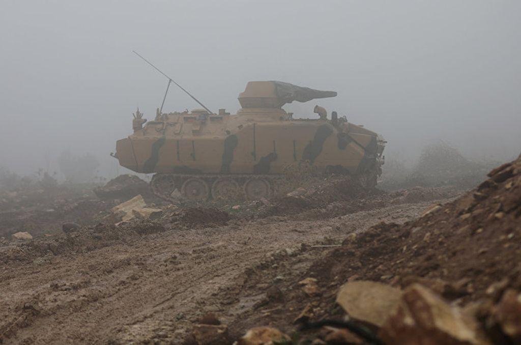 Turquía inició una ofensiva contra Afrin hace un mes. Crédito: Internet
