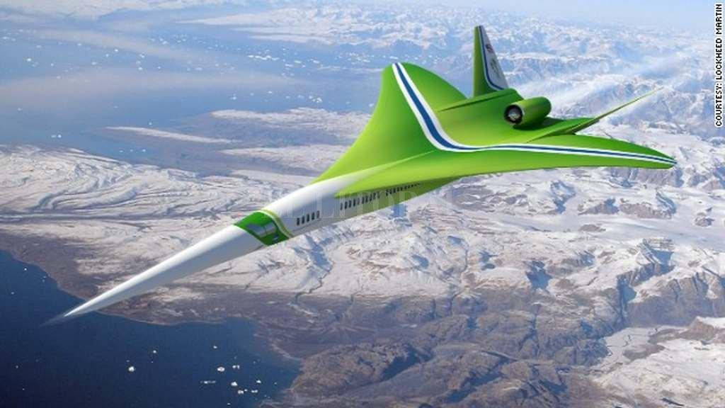 Este avión supersónico promete viajar de Nueva York a Los Ángeles en 2,5 horas. <strong>Foto:</strong> CNN en Español