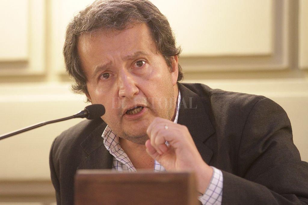 Carlos Del Frade. <strong>Foto:</strong> Archivo El Litoral / Luis Cetraro