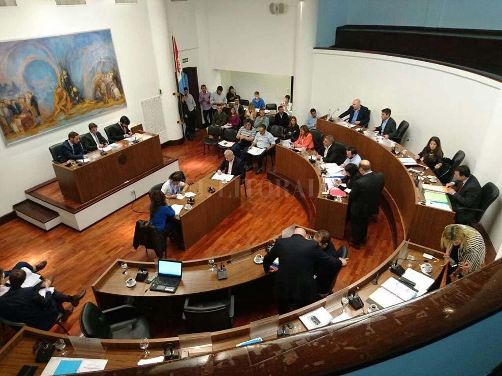 La previa. En pocos días el Concejo empezará a sesionar. Hay muchos proyectos ya ingresados. Todo indica que será un año intenso en el trabajo legislativo. <strong>Foto:</strong> Archivo El Litoral.