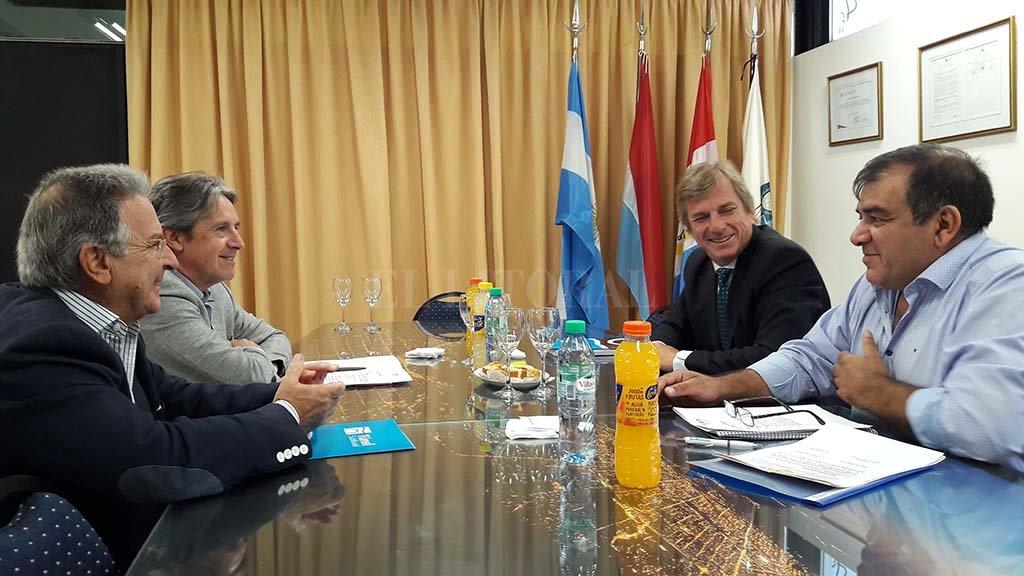 El radical Mariano Romero Acuña asumió como nuevo representante de la provincia en la Comisión Administradora del Túnel Subfluvial. <strong>Foto:</strong> Gentileza.