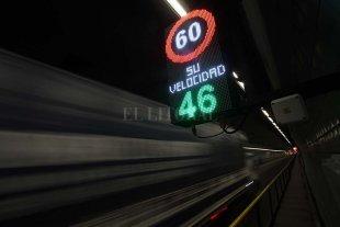Colocaron radares de control de velocidad en el túnel subfluvial