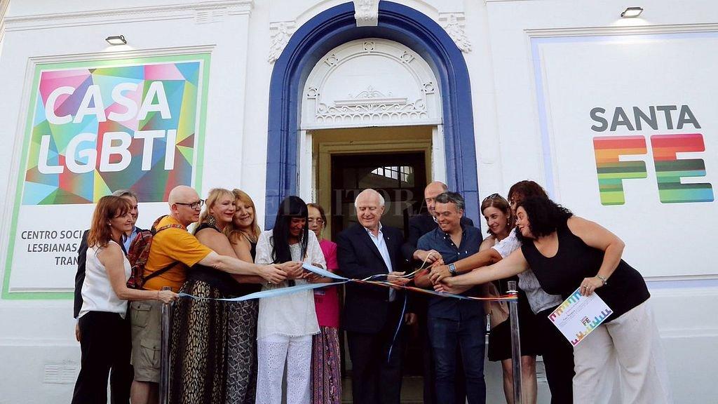 Desde fines de 2017 la ciudad de Santa Fe cuenta con la Casa LGTBI. <strong>Foto:</strong> Secretaría de Comunicación Social