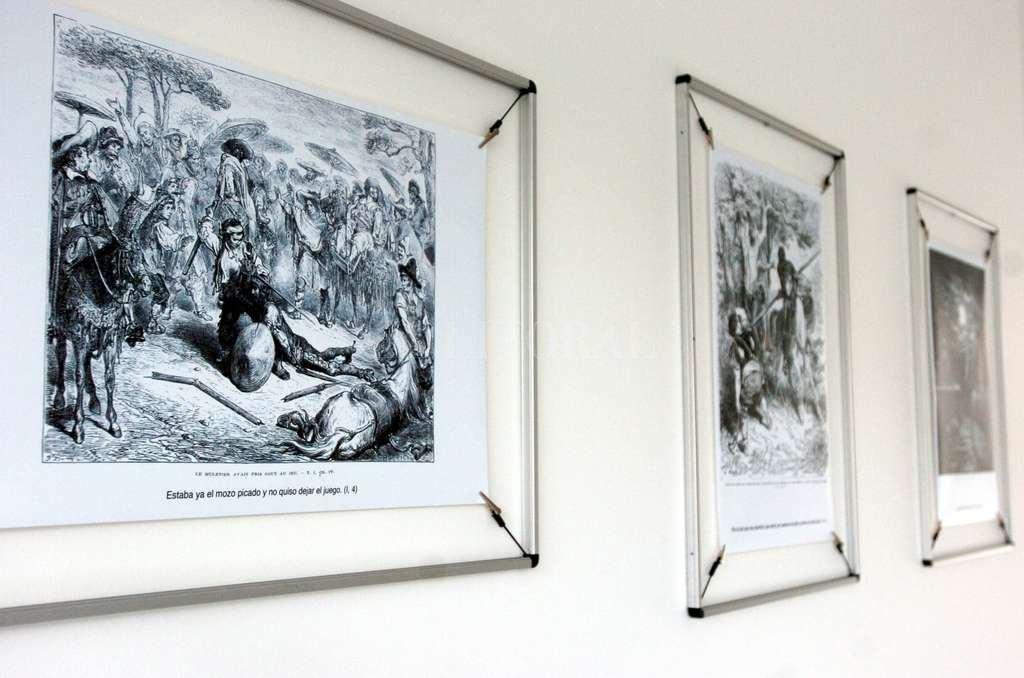 """Ilustraciones de Gustave Doré sobre el libro de Miguel de Cervantes Saavedra """"El ingenioso Hidalgo don Quijote de la Mancha"""". <strong>Foto:</strong> Archivo El Litoral / EFE"""