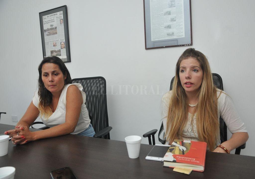 María Florencia Freijo y Jorgelina Mudallel  Flavio Raina