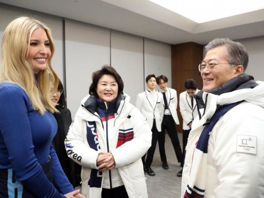 Ivanka Trump finaliza viaje a los JJOO sin reunirse con delegación norcoreana. <strong>Foto:</strong> Internet