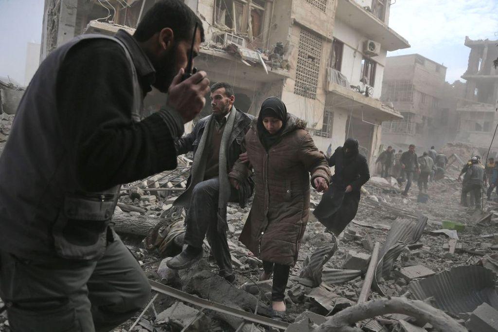 El cese al bombardeo es reclamado de forma urgente. <strong>Foto:</strong> Internet