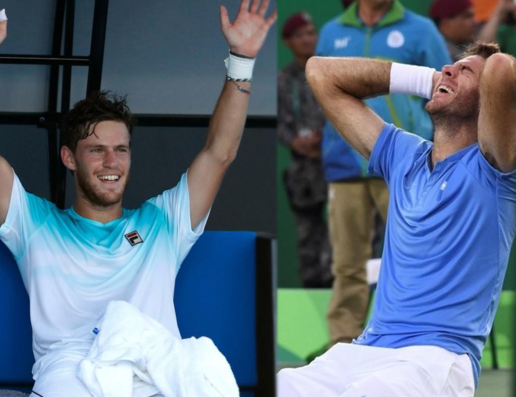 El Peque y Delpo, orgullosamente representan a Argentina en el circuito de la ATP. <strong>Foto:</strong> Internet/El Litoral