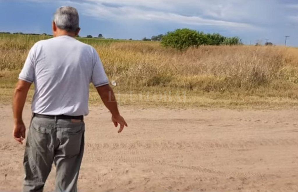 Pedro Peirone, vecino de San José de la Esquina, relató lo ocurrido con un joven que levantó en la ruta y que desapareció de su camioneta. <strong>Foto:</strong> Captura digital