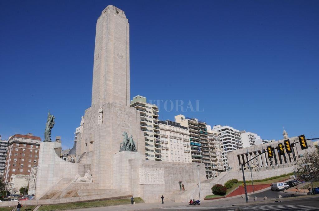 El Monumento a la Bandera es el epicentro de los festejos Crédito: Archivo