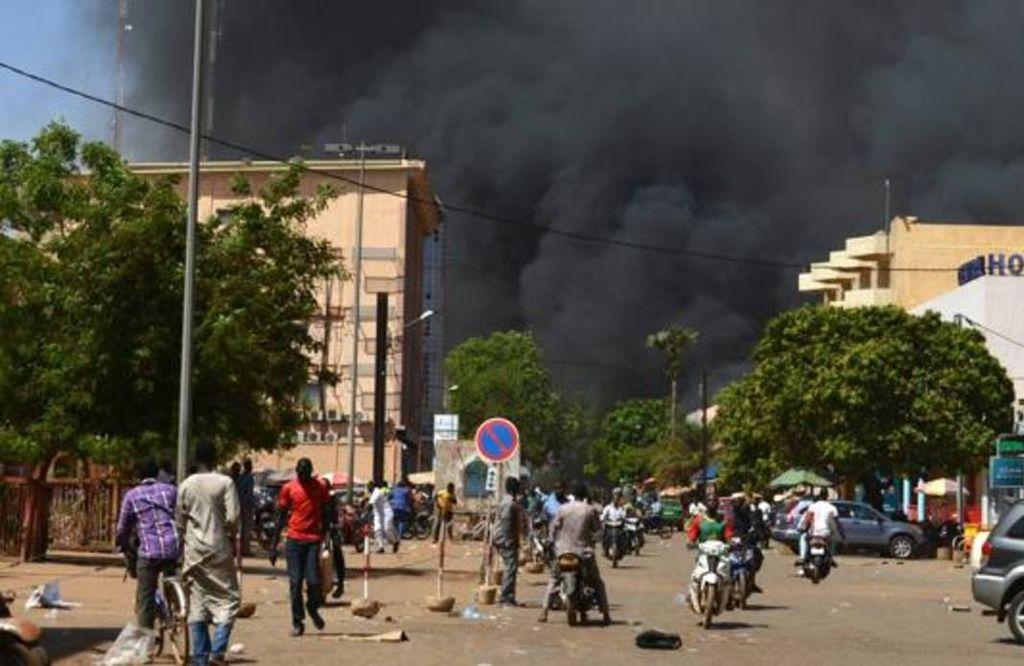 Los terroristas volaron un edificio en el que se iba a celebrar una importante reunión que se pospuso en el último momento. Crédito: Alba Amorós - Corresponsal ABC Johannesburgo.