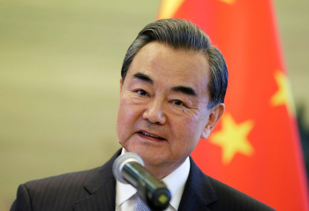 Ministro de Exteiores de China, Wang Yi. Crédito: Internet