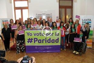 Lifschitz anunció el envío a la Legislatura del proyecto de Paridad de Género