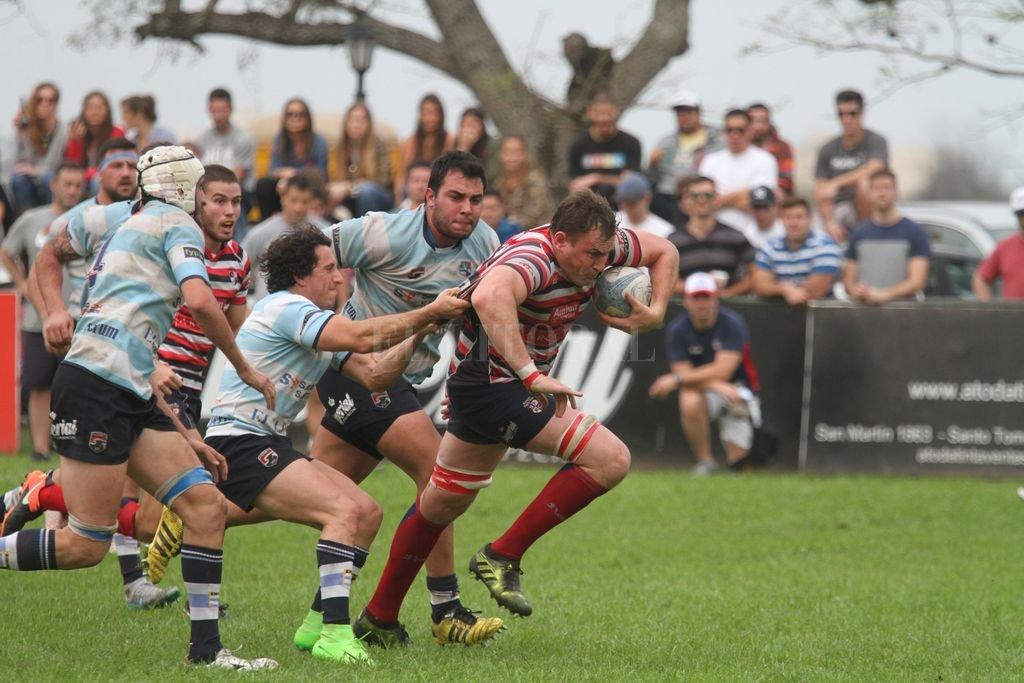 Santa Fe Rugby y CRAI.Dos de los equipos de la capital provincial que serán parte del Torneo del Interior A. Uni, lo hará en el C.  <strong>Foto:</strong> Luis Cetraro