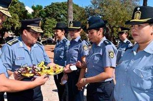 Reconocimiento de la Policía de Santa Fe en el Día Internacional de la Mujer