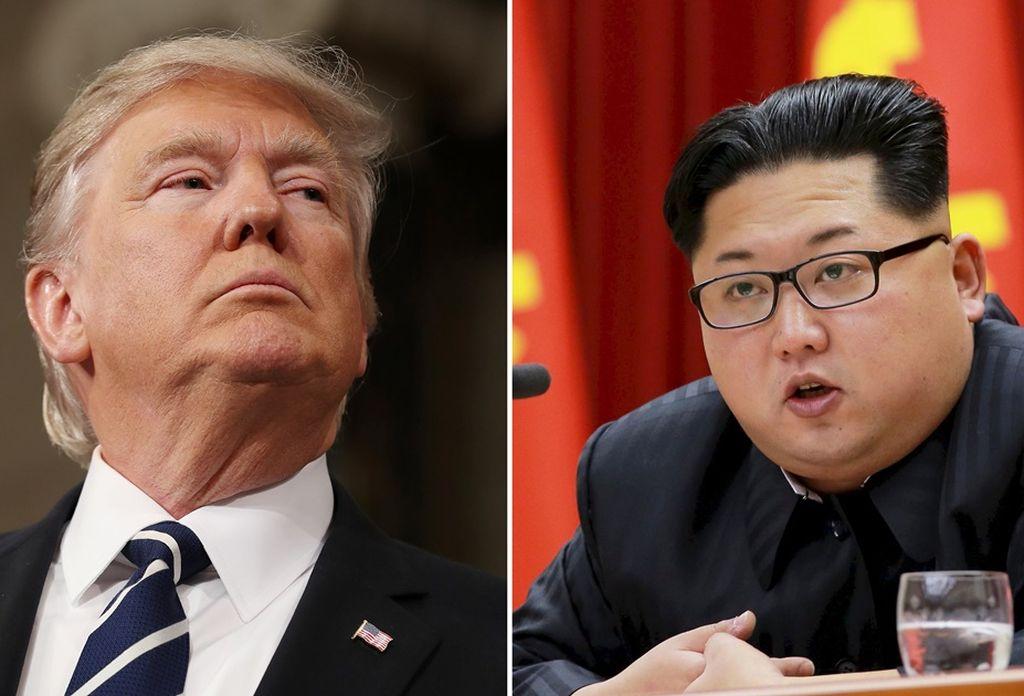 Trump-Kim <strong>Foto:</strong> El Universal