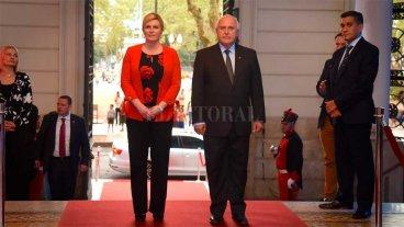 Lifschitz se reunió con la presidente de la República de Croacia