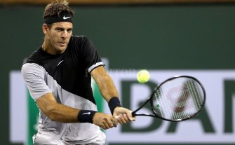 Del Potro a semifinales de Indian Wells