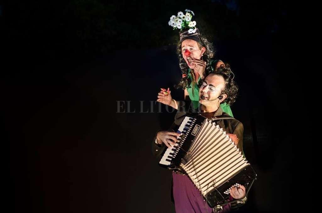 """""""Manso y Pavota"""", uno de los espectáculos que se presentaron el año pasado en el Teatro de la Abadía.  <strong>Foto:</strong> Archivo El Litoral / Gentileza producción"""