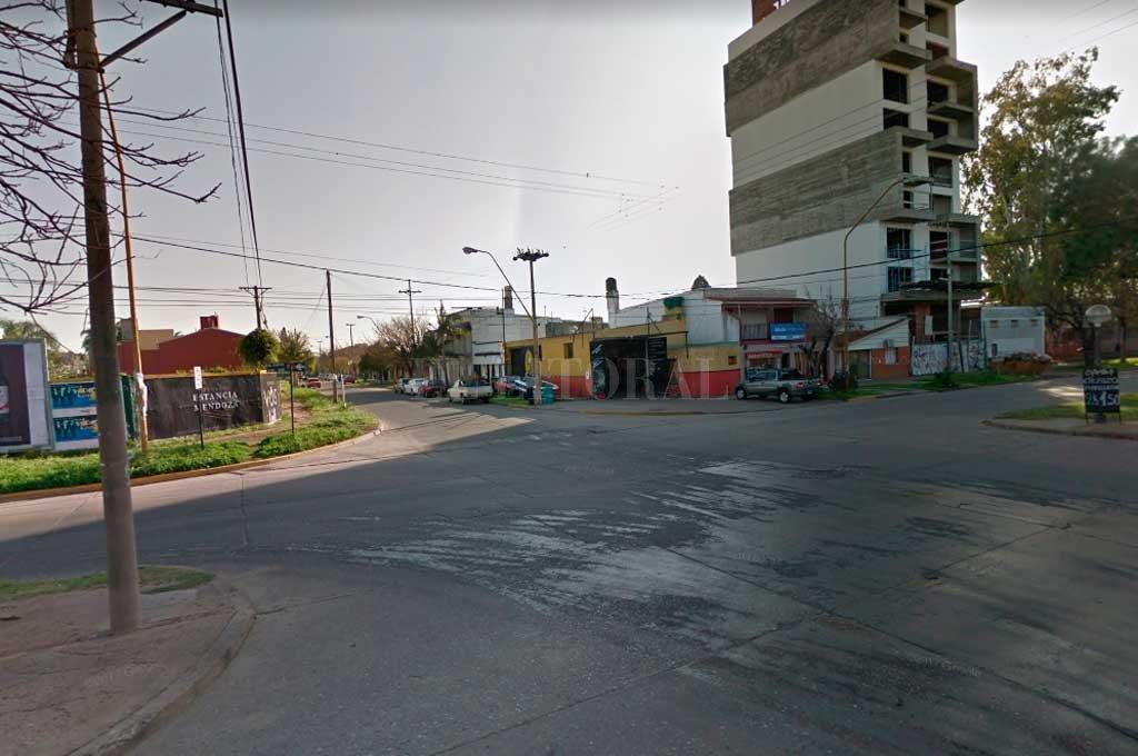 La zona donde se produjo el accidente Crédito: Captura de Pantalla - Google Street View