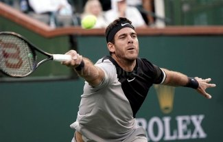Del Potro juega este domingo la final de Indian Wells ante Federer