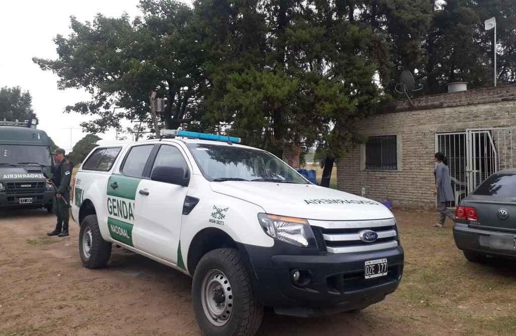 El operativo estuvo a cargo de Gendarmería de Avellaneda, con colaboración del escuadrón Santa Fe. Crédito: El Litoral