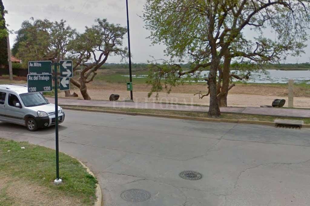 La zona donde se produjo el hecho  <strong>Foto:</strong> Captura de Pantalla - Google Street View