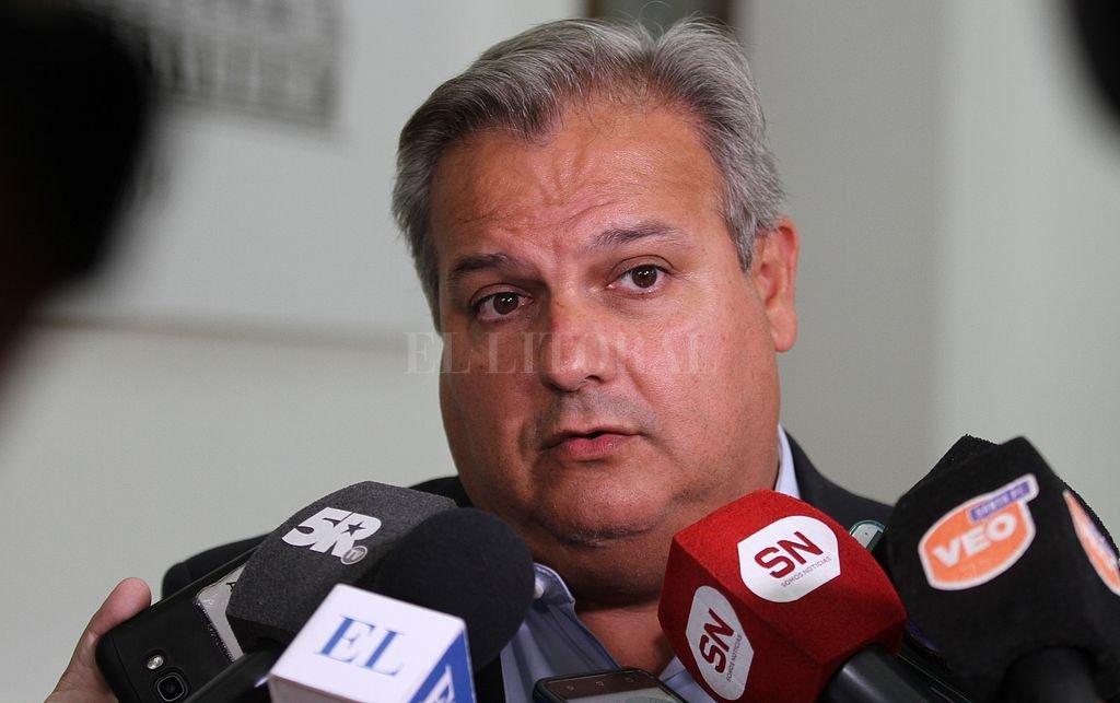 Pablo Farías, ministro de Gobierno y Reforma del Estado. <strong>Foto:</strong> Manuel Fabatia