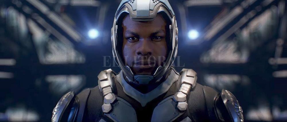 Jake Pentecost (John Boyega) es hijo del hombre que se sacrificó en la lucha contra los Kaiju, y una promesa como piloto Jaeger, pero entregado a una vida criminal; ahora podrá conmemorar su legado. Gentileza Universal Pictures