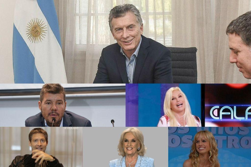¿Qué famosos participaron de la cena con Macri?