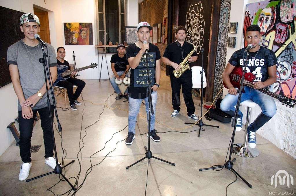 La Voz del Pueblo es un grupo de rap rock & rap fusión fundado en 2014 en Alto Verde, con canciones que cuentan las historias del barrio.  Crédito: Gentileza Not Momma