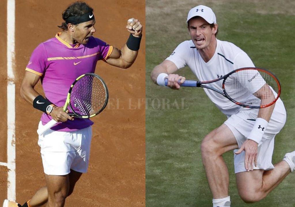Recuperados, regresan Nadal y Murray. <strong>Foto:</strong> Archivo